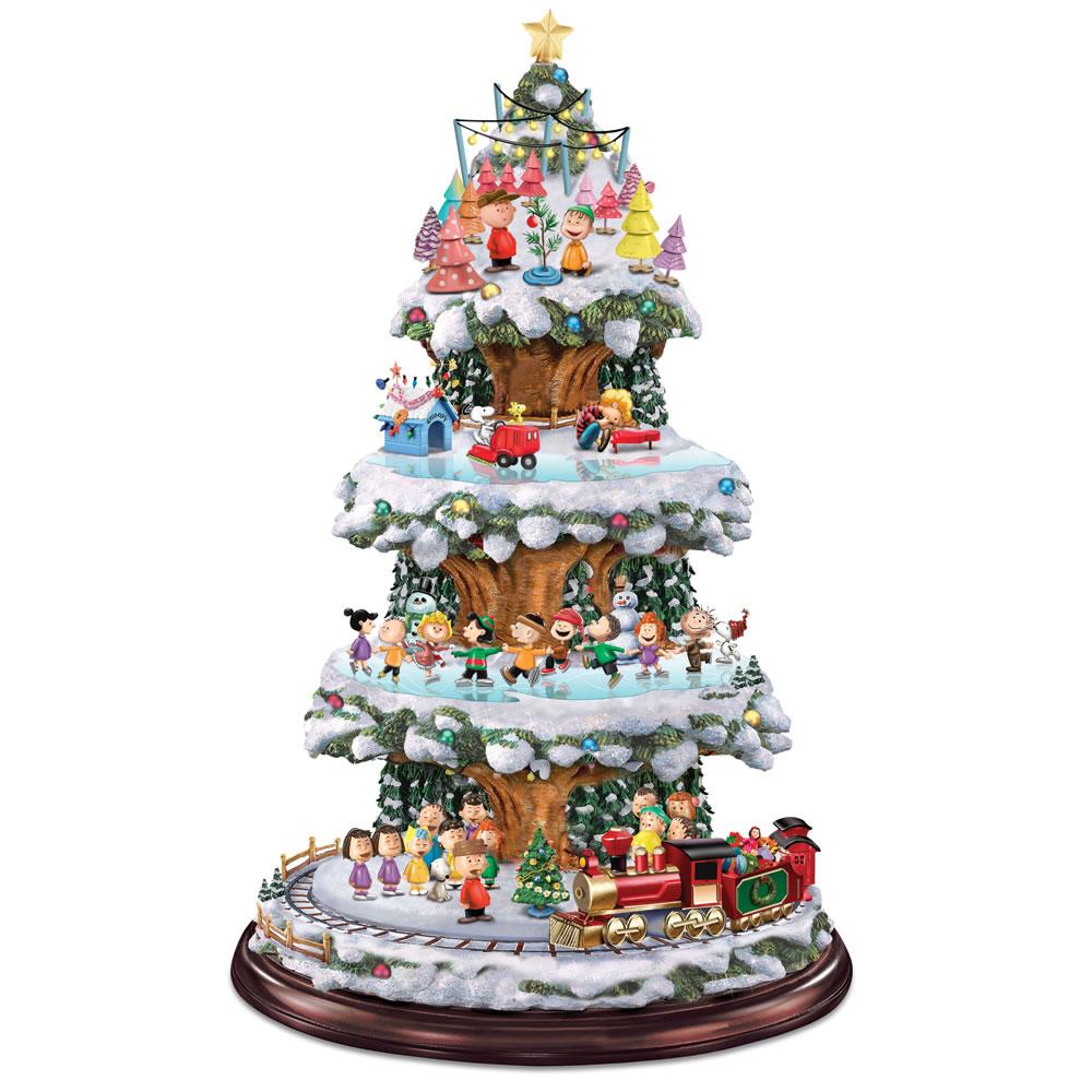 Kinkade christmas ornaments - Watch The Peanuts Animated Christmas Tree
