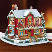 The Disney Night Before Christmas Storyhouse.