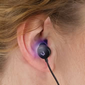 The Light Therapy Earbuds.