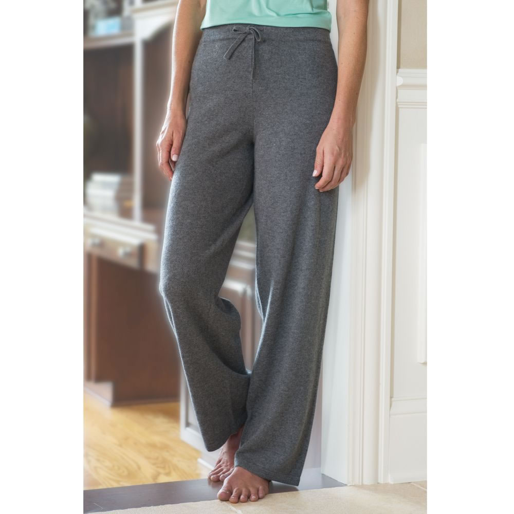 The Lady's Washable Cashmere Lounge Pants 1