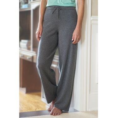 The Lady's Washable Cashmere Lounge Pants.