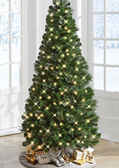 The Decoratable Pull Up Christmas Tree