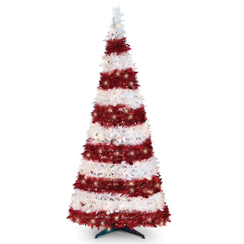 Pop Up Decorated Christmas Tree
