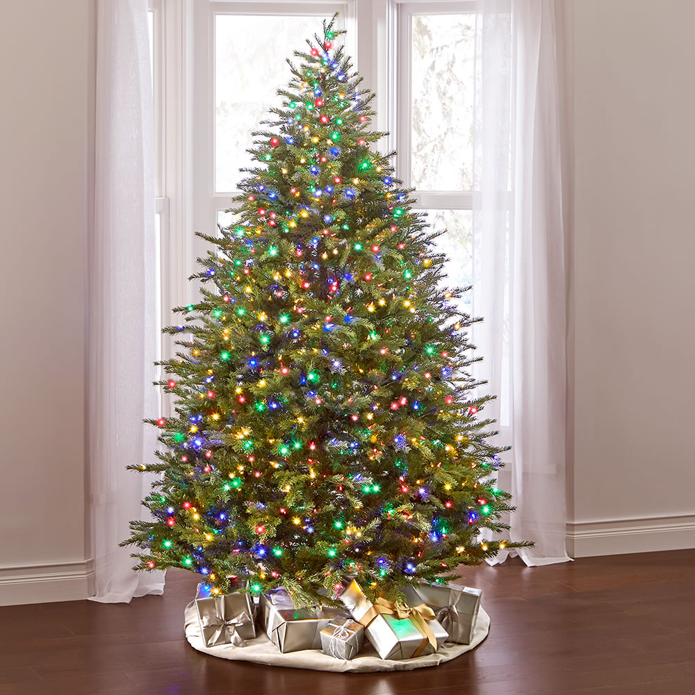 The World's Best Dual Lit Concolor Fir (7 5' Slim) 3