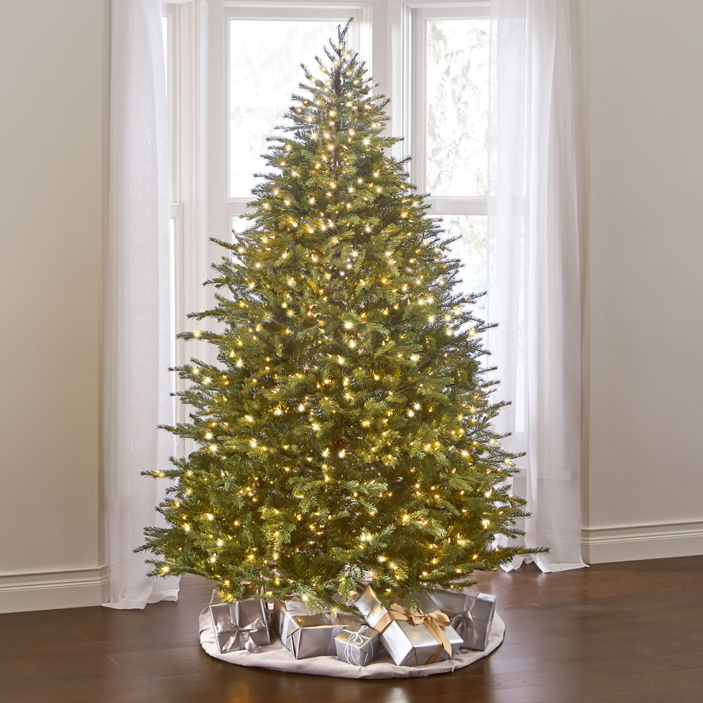 The World's Best Dual Lit Concolor Fir (7 5' Slim) 1