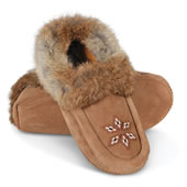 The Genuine Metis Handmade Moccasins.