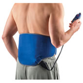 The Wearable Heated Lumbar Pad.