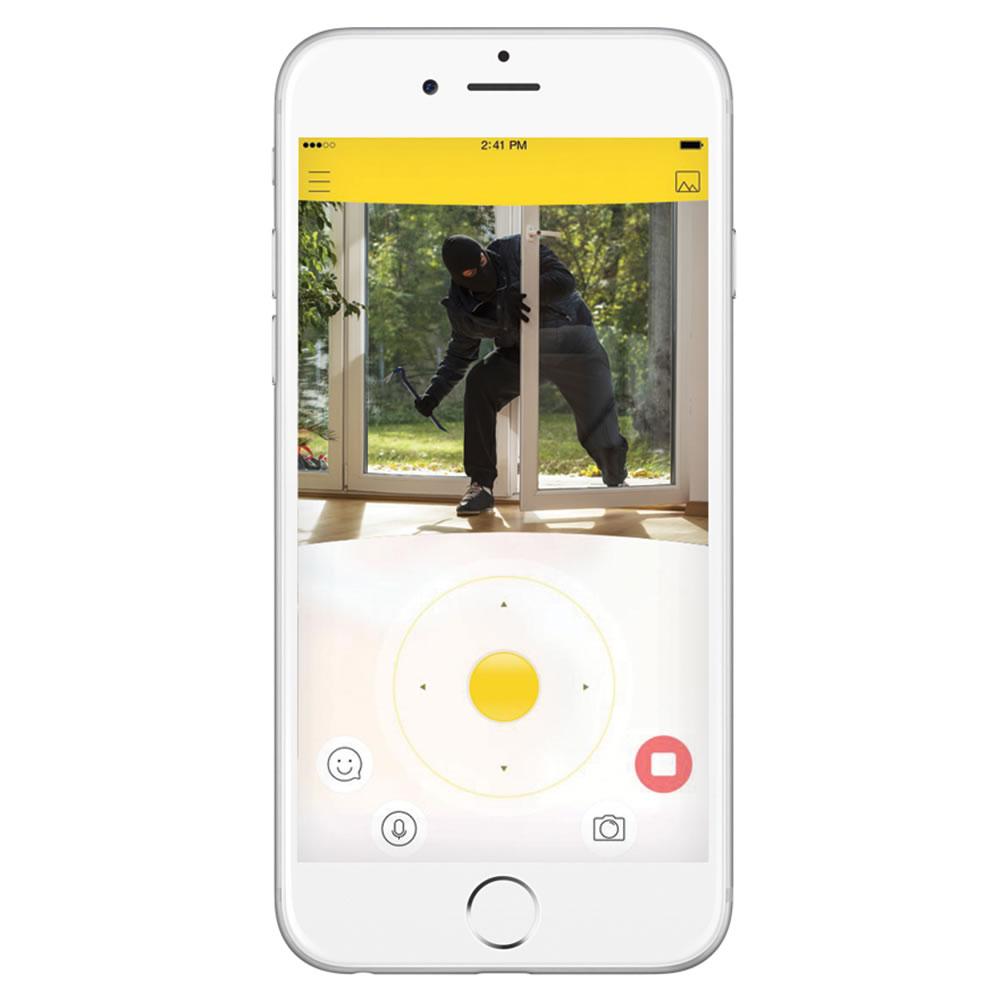 Image result for Hammacher Schlemmer's Smartphone Controlled Home Patrolling Robot.
