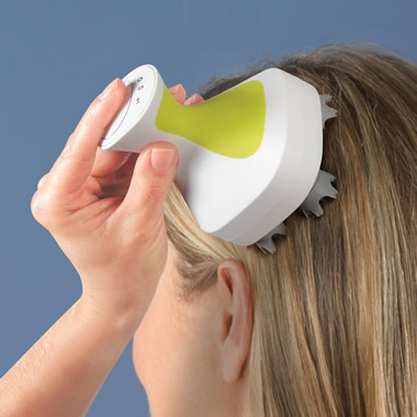 The Handheld Head And Neck Massager.
