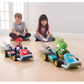 The RC Mario Kart Racers.