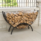 The Kindling And Firewood Separating Rack.