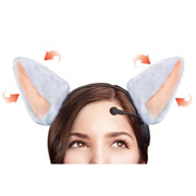 Brain Wave Animated Cat Ears.