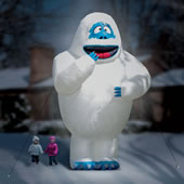 The 15 Ft. Inflatable Bumble The Snow Monster.