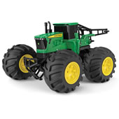 The RC John Deere Tractor.