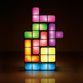 The Tetromino Light Sculpture.