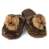 The Chewbacca Slippers.