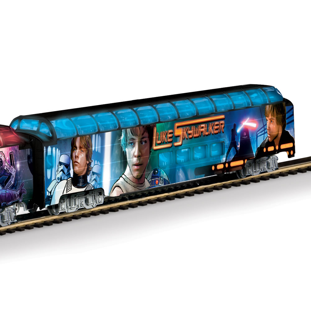 The Luminescent Star Wars Train 5