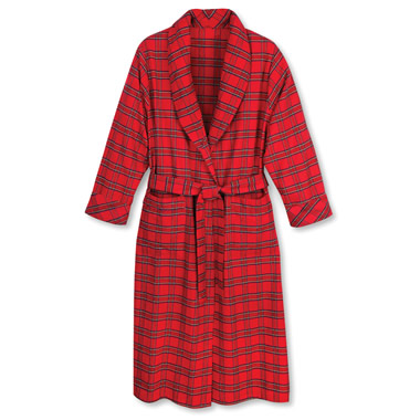 The Genuine Irish Flannel Robe