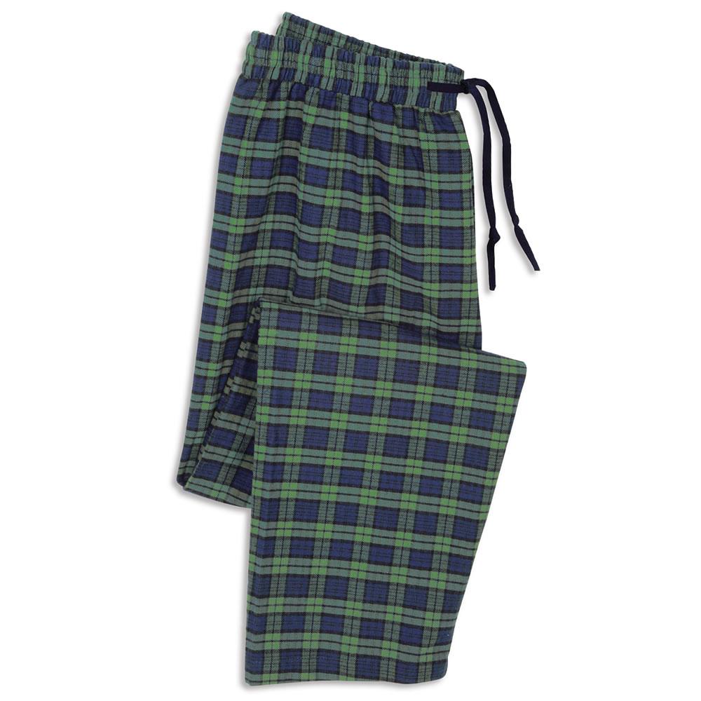 The Gentleman's Genuine Irish Flannel Lounge Pants - Hammacher ...