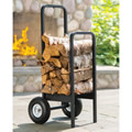 The Rolling Welded Firewood Rack.