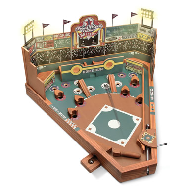 The Classic Pinball Baseball Game.