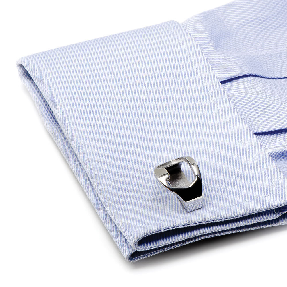 Stainless Steel Bottle Opener Cufflinks1
