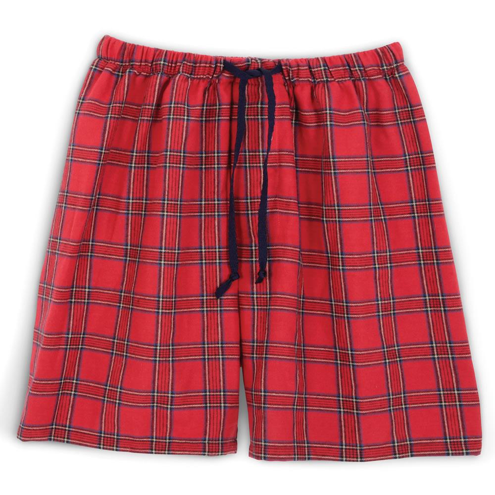 The Gentleman's Flannel Sleep Shorts1