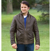 The Genuine Buffalo Leather Jacket.
