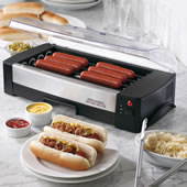 The Indoor Hot Dog Grill.