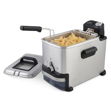 The Messless Deep Fryer.