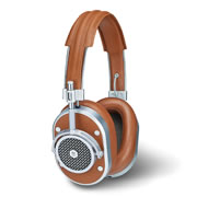 The Maximum Comfort Lambskin Neodymium Headphones (Corded).