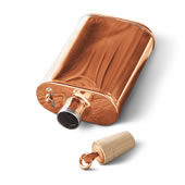 The Authentic Jacob Bromwell Copper Flask