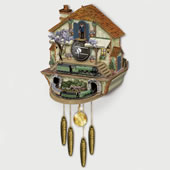 The Flying Scotsman Cuckoo Clock.