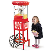 The Theatre Popcorn Cart.