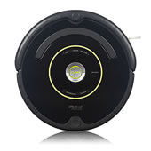 The Superior Suction Dirt Detecting Roomba 650.