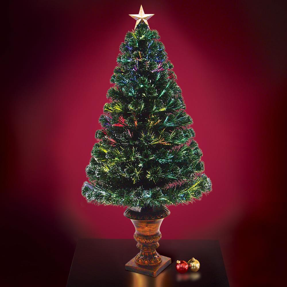 Cheap Prelit Artificial Christmas Trees