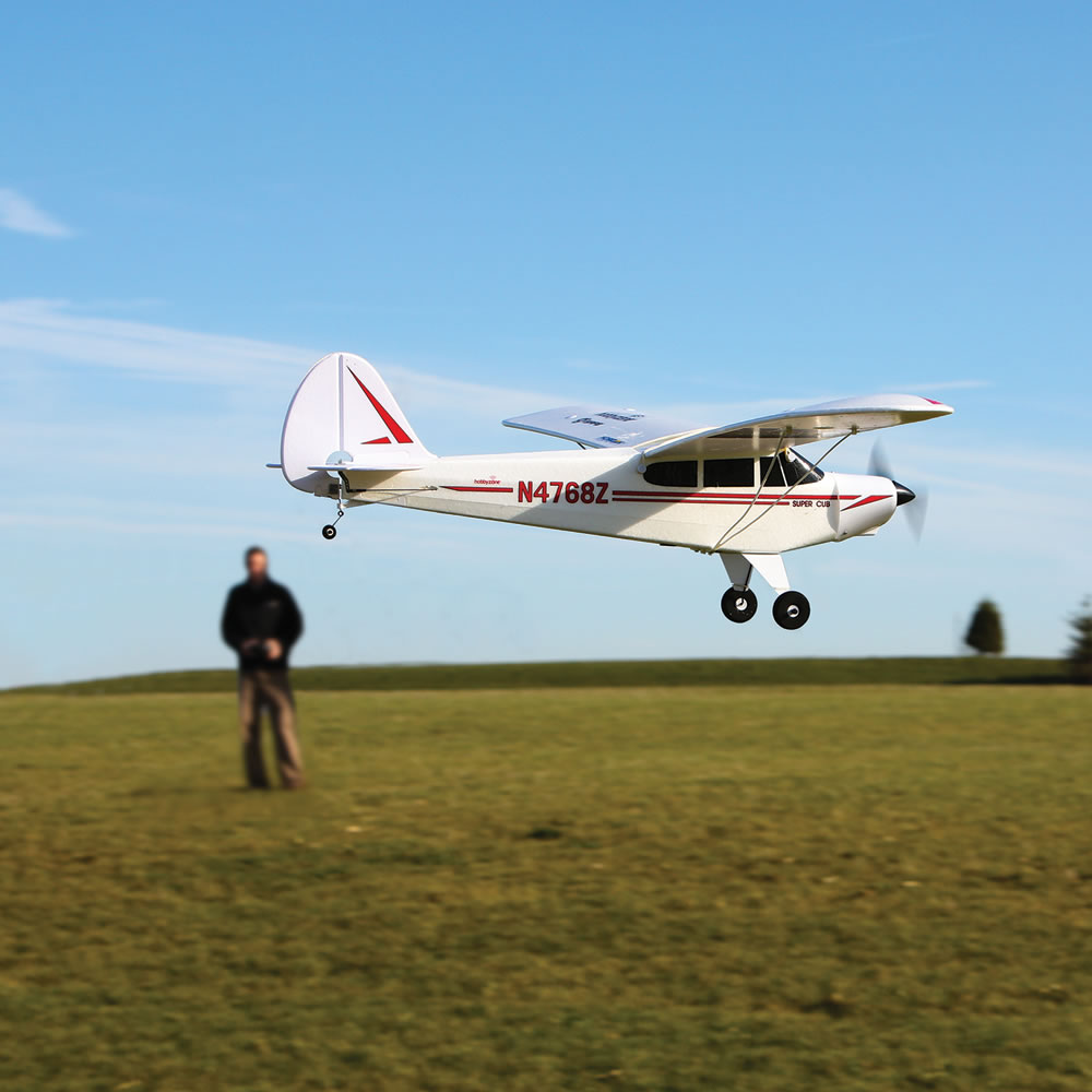 The Fly Assist RC Classic Super Cub 4