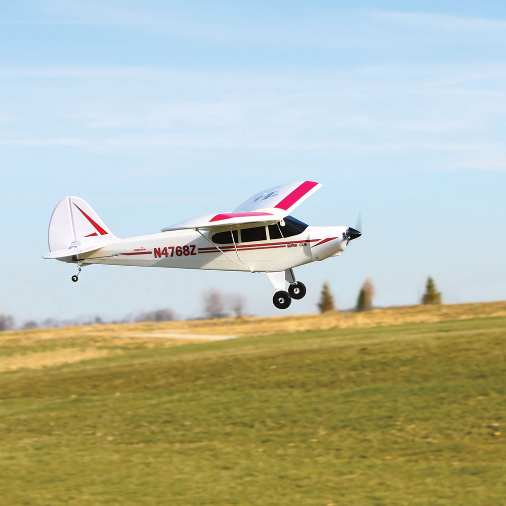 The Fly Assist RC Classic Super Cub 6