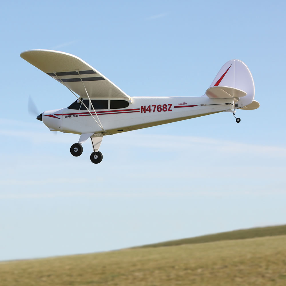 The Fly Assist RC Classic Super Cub 8