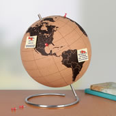 The Pinnable Globe.