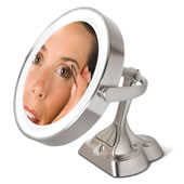 The Articulating Variable Light Mirror.