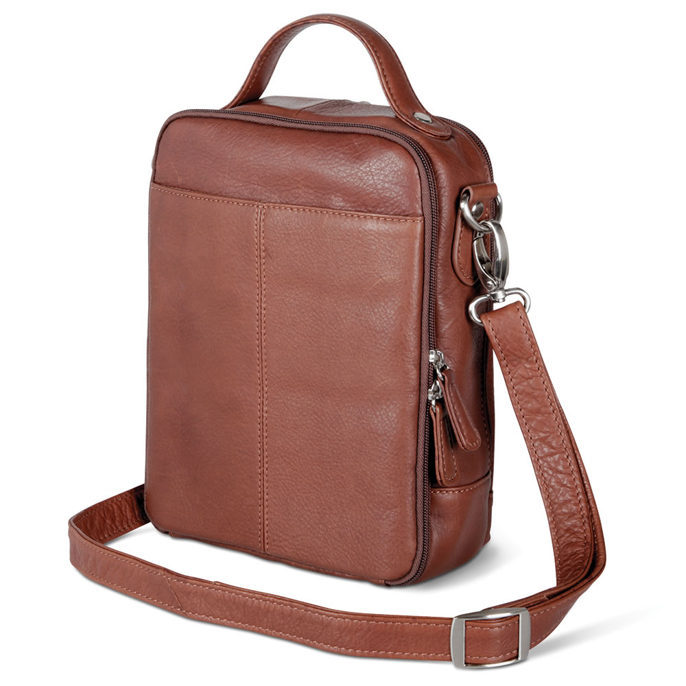 The Sightseer's Argentinian Leather Carryall4