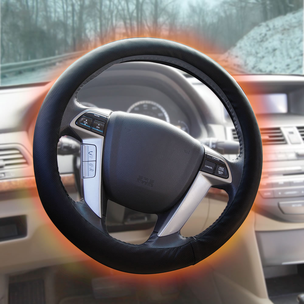 Heated Front Seats And Steering Wheel: The Full Coverage Heated Steering Wheel Cover