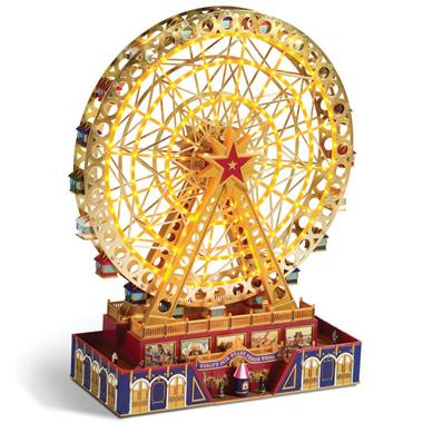 The Musical Illuminated Ferris Wheel.