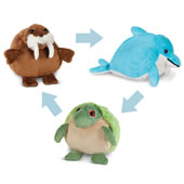 The Transforming Plush Pets.