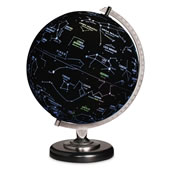 The Earth Or Constellation Illuminated Globe.