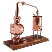 The Classic German Copper Distiller.