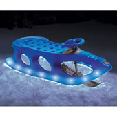 The Lighted Alpine Sled.