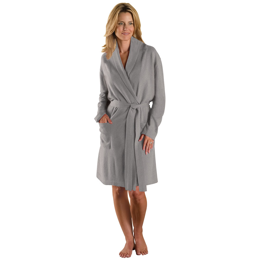 The Lady's Washable Cashmere Robe 2