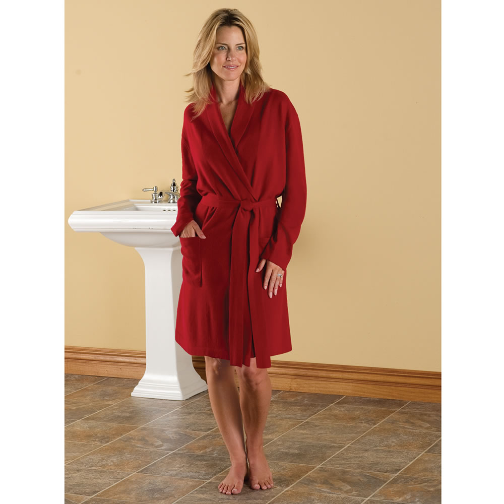 The Lady's Washable Cashmere Robe 1
